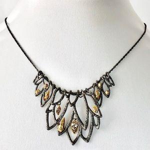 Alexis Bittar Whimsical Crystal Collar Necklace